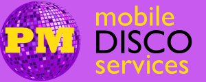 PM Mobile Disco Services Logo